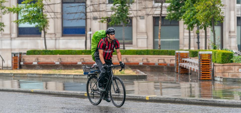Wet Weather Commuting Tips