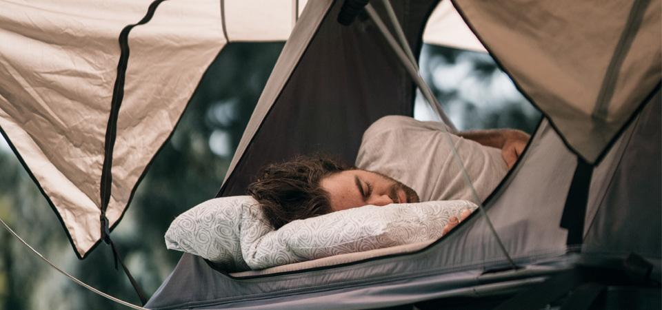 How to get a good night sleep whilst camping