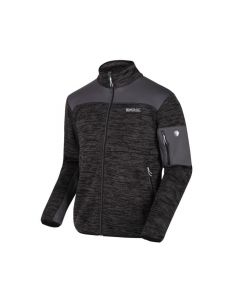 Regatta Collumbus VI Men's Full Zip Stretch Fleece - Magnet Grey