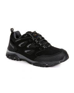 Regatta Men's Holcombe IEP Low Walking Shoes - Black Granite