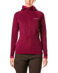 Berghaus Redonda Women's Hooded Fleece Jacket - Sangria