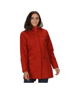 Regatta Serleena II Parka Jacket in Burnt Tikka Red