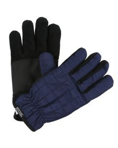 Regatta Quilted Gloves - Navy