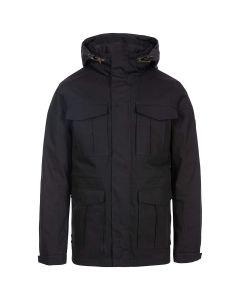 Trespass Rainthan Men's Waterproof Jacket - Black
