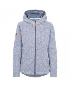 Trespass Reserve Women's Fleece Hoodie - Denim Blue