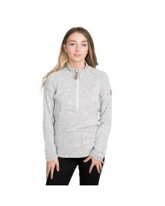Trespass Tenderness Women's 1/2 Zip Fleece - Grey Marl