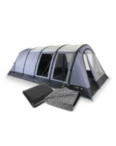 Kampa Dometic Wittering 6 Air Tent / Carpet / Footprint Package