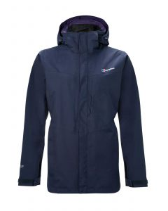 Berghaus Hillwalker Long Interactive Womens Waterproof Jacket - Dusk
