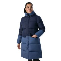 Berghaus Combust Reflect Long Down Insulated Jacket - Blue