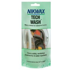 Nikwax Tech Wash Waterproofer - 100ml Pouch