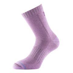 1000 Mile All Terrain Women's Double Layer Walking Socks - Raspberry