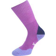 1000 Mile Fusion Womens Walking Socks - Fuchsia