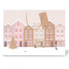 Tallon - Small Luxury Shopper Rose Gold Houses