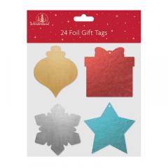 Tallon 24 Foil Shaped Tags