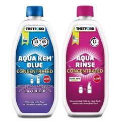 Aqua Kem Fluid & Rinse Concentrate Duo Pack