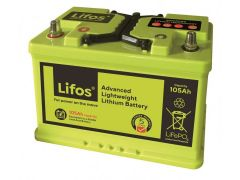 LiFOS Advanced Lithium 105Ah Leisure Battery