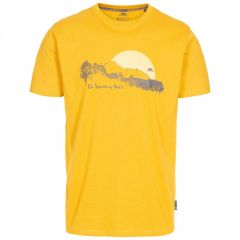 Trespass Bredonton Men's Printed T-Shirt - Maize