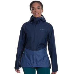 Berghaus Womens Deluge Vented Jacket - Dusk