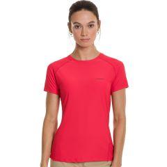 Berghaus Womens Short Sleeve Tech Tee Red