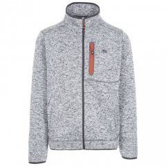 Trespass Bingham Men's Marl Fleece Jacket - Grey Marl