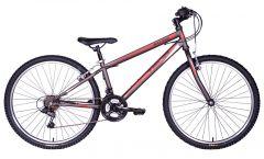 """Tiger Hazard 26"""" Mountain Bike - Gunmetal Grey"""