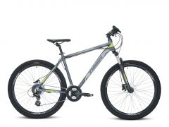 Tiger HDR 27.5 V2 MTB - Matte Grey/Green
