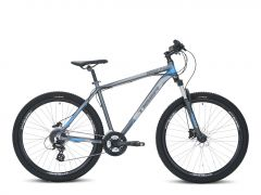Tiger HDR 27.5 V2 MTB - Matte Grey/Blue
