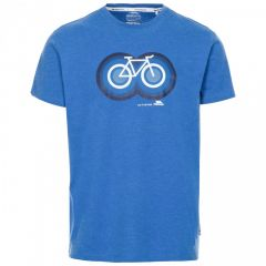 Trespass Bonnhilly Men's Printed T-Shirt - Blue