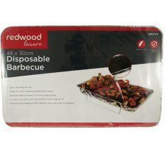 Redwood Leisure 48 x 30cm Disposable BBQ