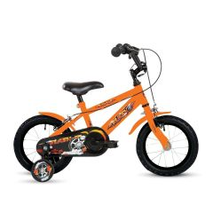 """Bumper Flash 18"""" Wheel Boys Pavement Bike Orange"""