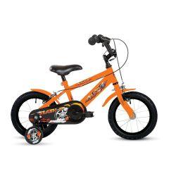 "Bumper Flash Orange Boys Bike - 14"""