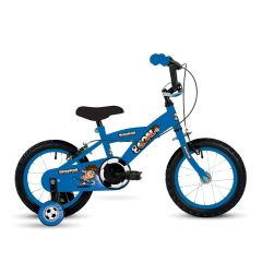 "Bumper Goal Boys Bike 18"" Wheel - Blue"