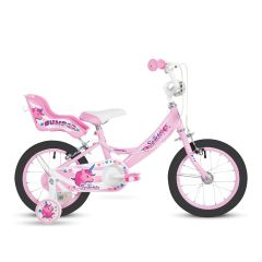 "Bumper Sparkle Girls Bike 16"" Wheel - Pink"