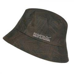 Regatta Men's Camdyn Reversible Hat - Nutmeg Cream Grape Leaf Camo Print