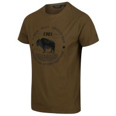 Regatta Cline IV Men's Graphic T-Shirt - Camo Green Adventurer Print