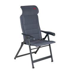 Crespo Air-Deluxe Compact Reclining Mesh Chair - Grey