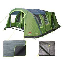 Coleman Weathermaster 6XL Air Tent / Carpet / Footprint Package