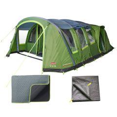 Coleman Weathermaster 8XL Air Tent / Carpet / Footprint Package