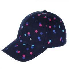 Regatta Kids' Cuyler Baseball Cap II - Navy Polka Dot