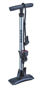 Oxford Alloy Track Pump with Gauge - 120PSI