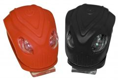 Oxford Brighteye Alien LED Cycle Lights - Red / Black