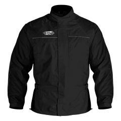Oxford Rainseal Packaway Lined Waterproof Jacket - Black