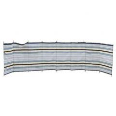 Deluxe 9 Pole Windbreak - Sand / Grey Striped