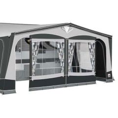 Dorema Garda 240 Awning Charcoal Grey