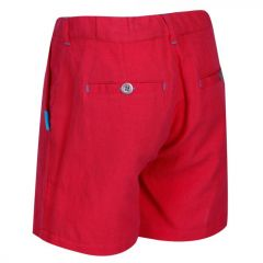 Regatta Kids' Damita Casual Shorts - Coral Blush