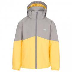 Trespass Dexterous Kid's Waterproof Jacket - Storm Grey