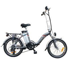 E-Scape Folding Electic Bike - Grey