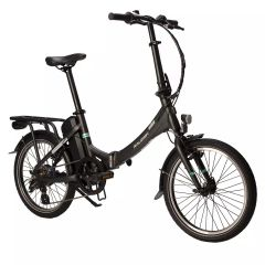 Raleigh Stow-E-Way Folding Electric Bike in Black