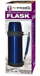 Prima Stainless Steel Vacuum Flask - 1 Litre (Blue)
