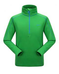 Skogstad Falketind Polyester Zip Top Men's Fleece - Classic Green